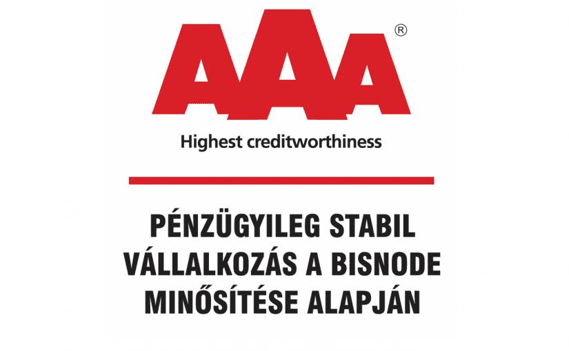 Továbbra is a pénzügyileg legstabilabb cégek között a KVANT Kft. – EHRLE Hungária!
